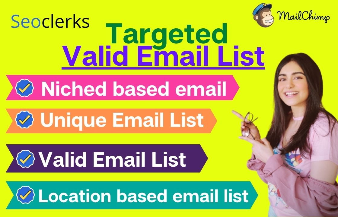 I will give target mail list In city or country base