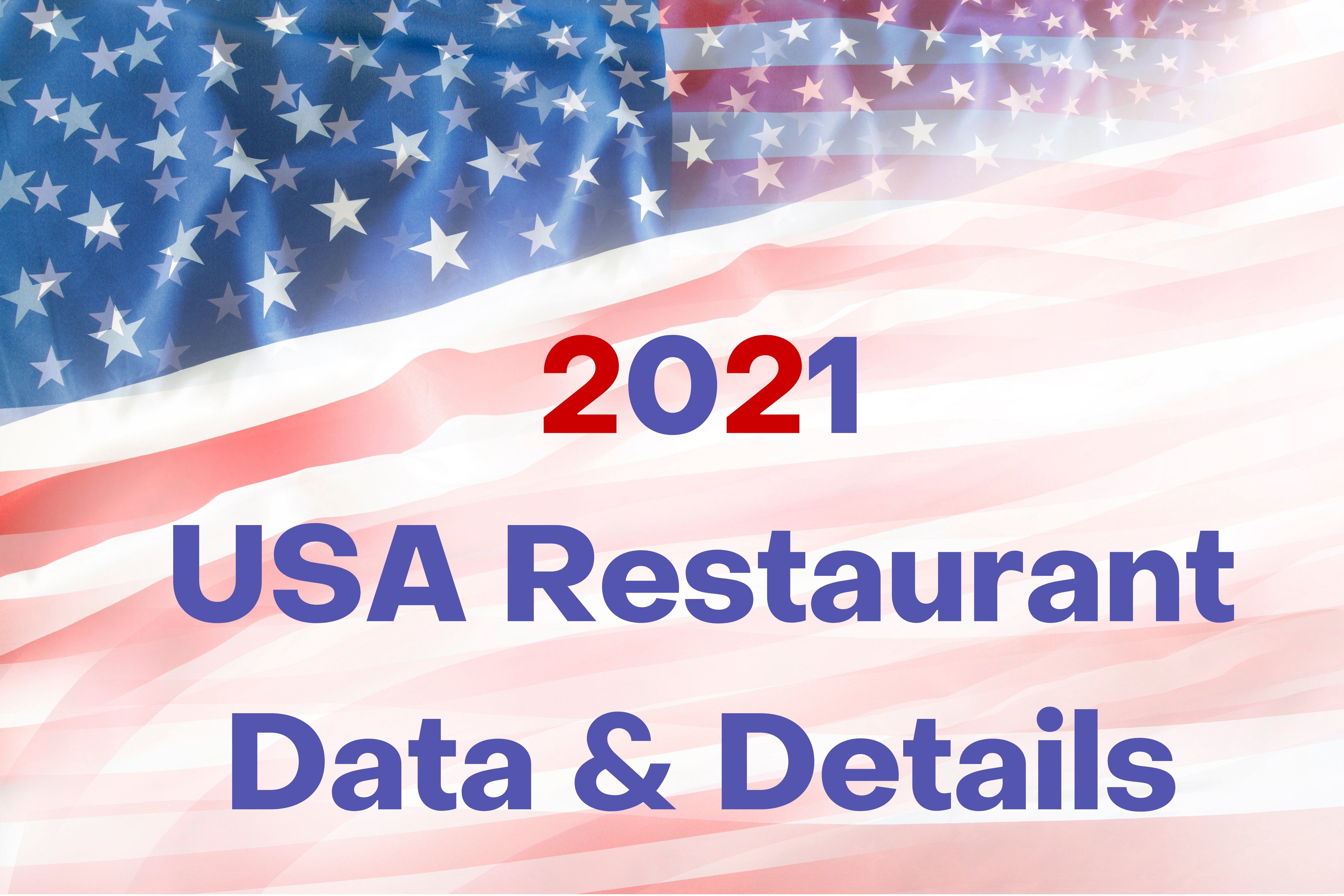 I will give restaurant data with all details In USA