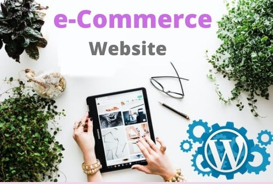 I will develop e commerce website or online store