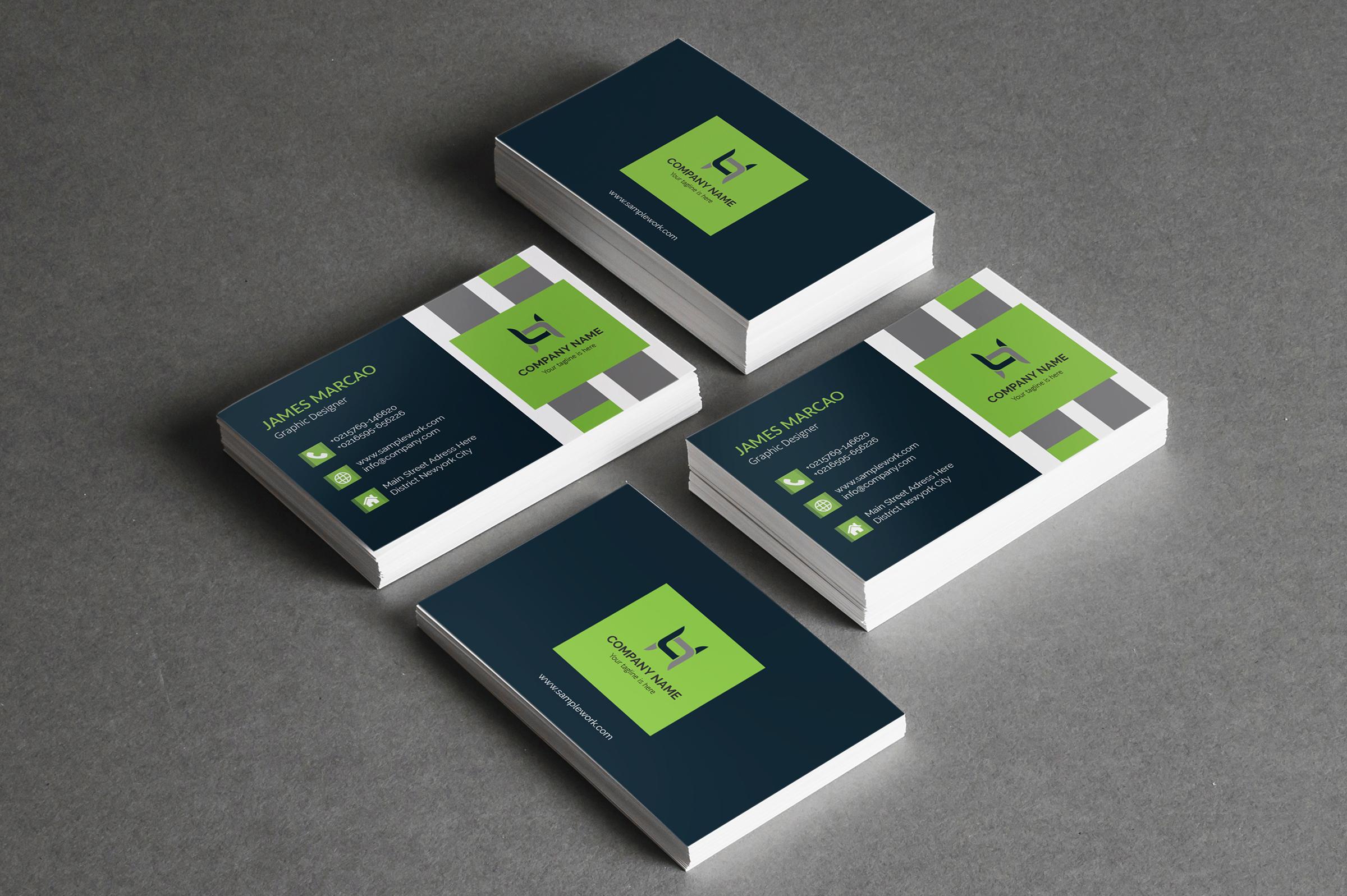 I will do unique modern and creative Business card design