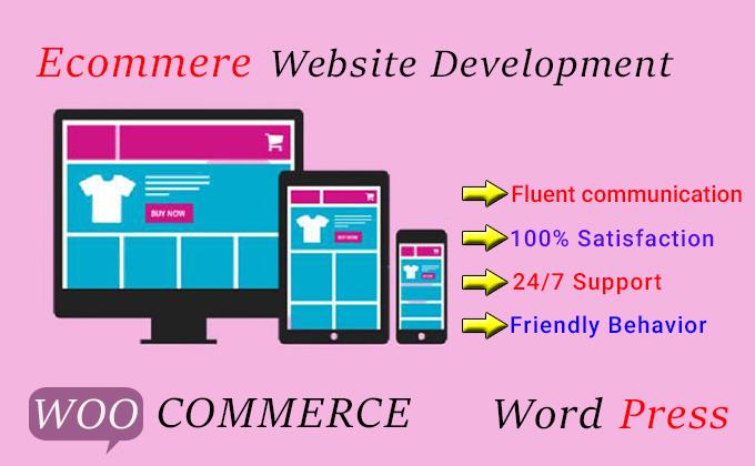 I will design ecommerce wordpress website