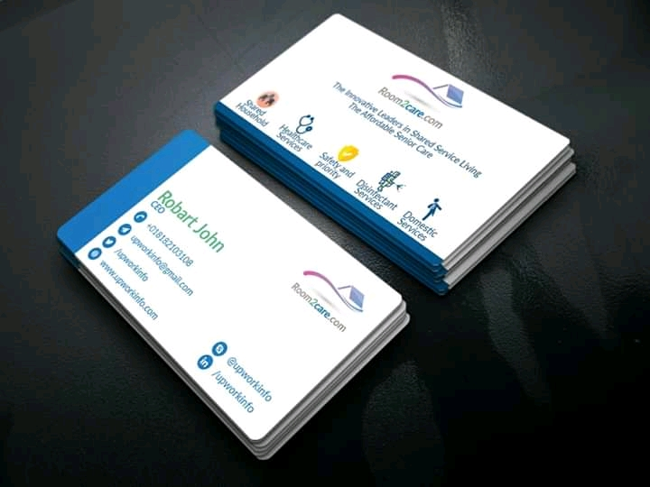 I will design unique and professional business card for you within 24 hours