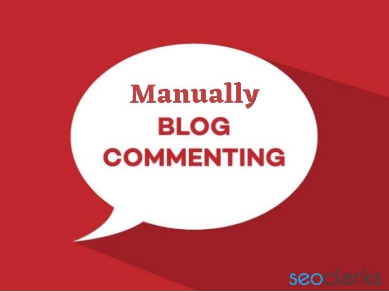 I will manually build 200 do follow blog comments backlinks