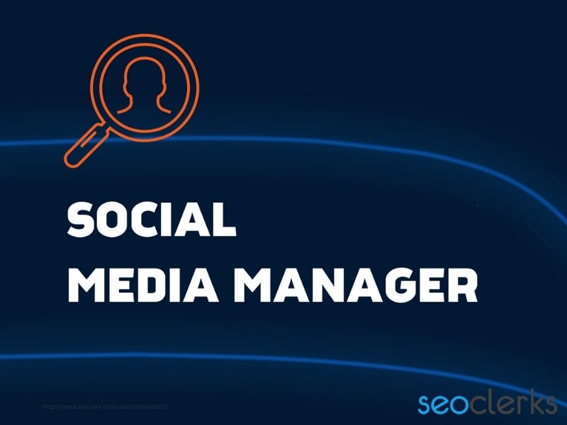 your social media marketing manager