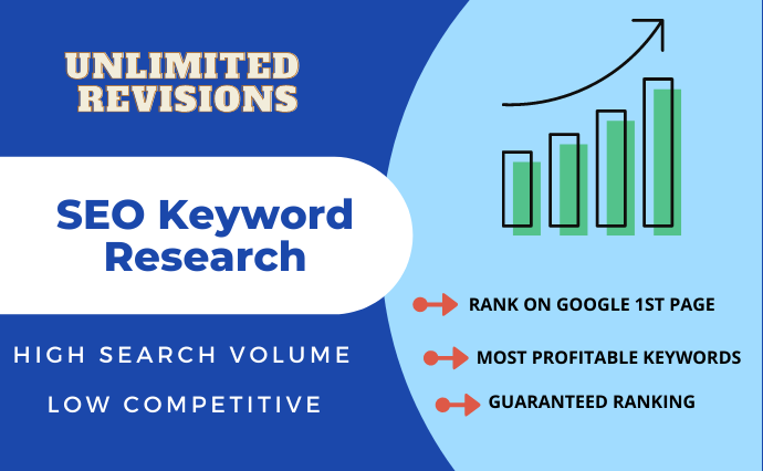 I will do SEO keyword research and competitor analysis.