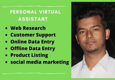 I will do your virtual assistance for unlimited work