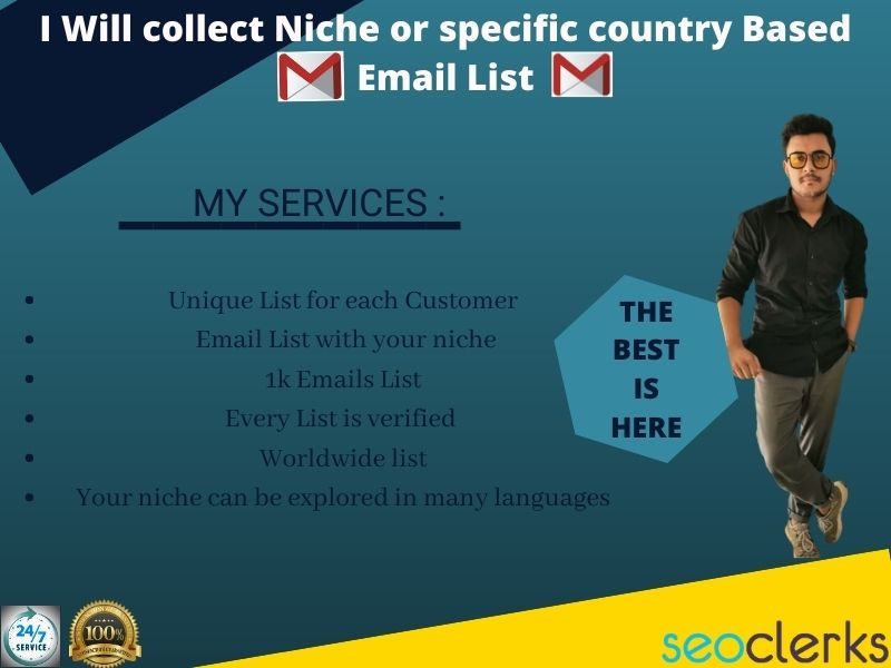 collect 1k email id for your business purpose