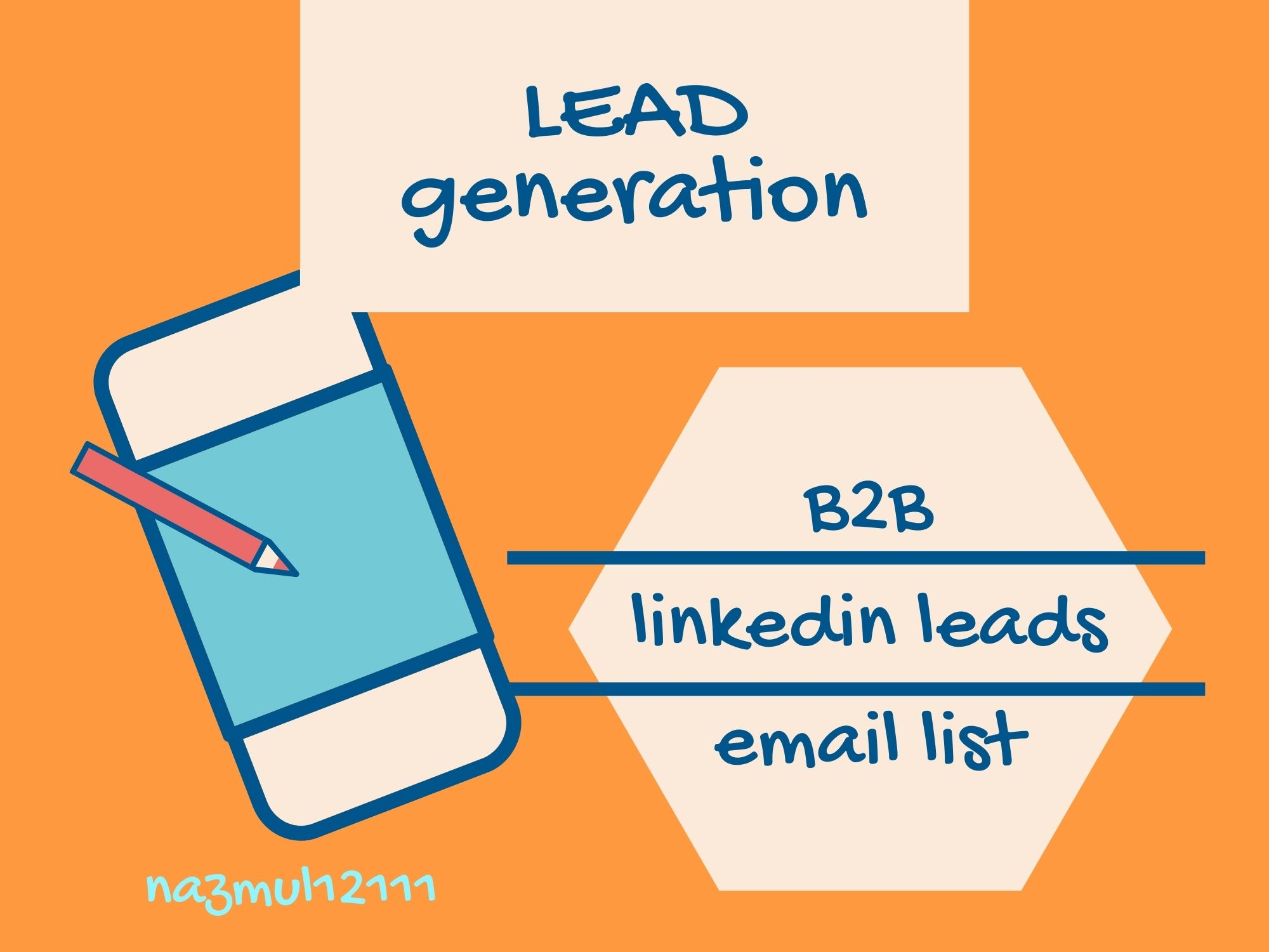 I will do niche and targeted B2B lead generation and LinkedIn lead generation