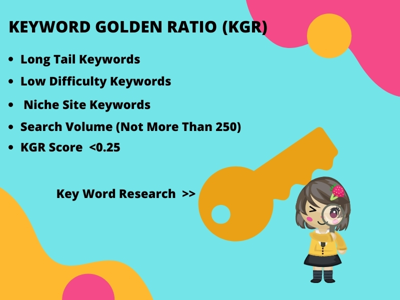 I will do depth KGR keyword Research for your niche site