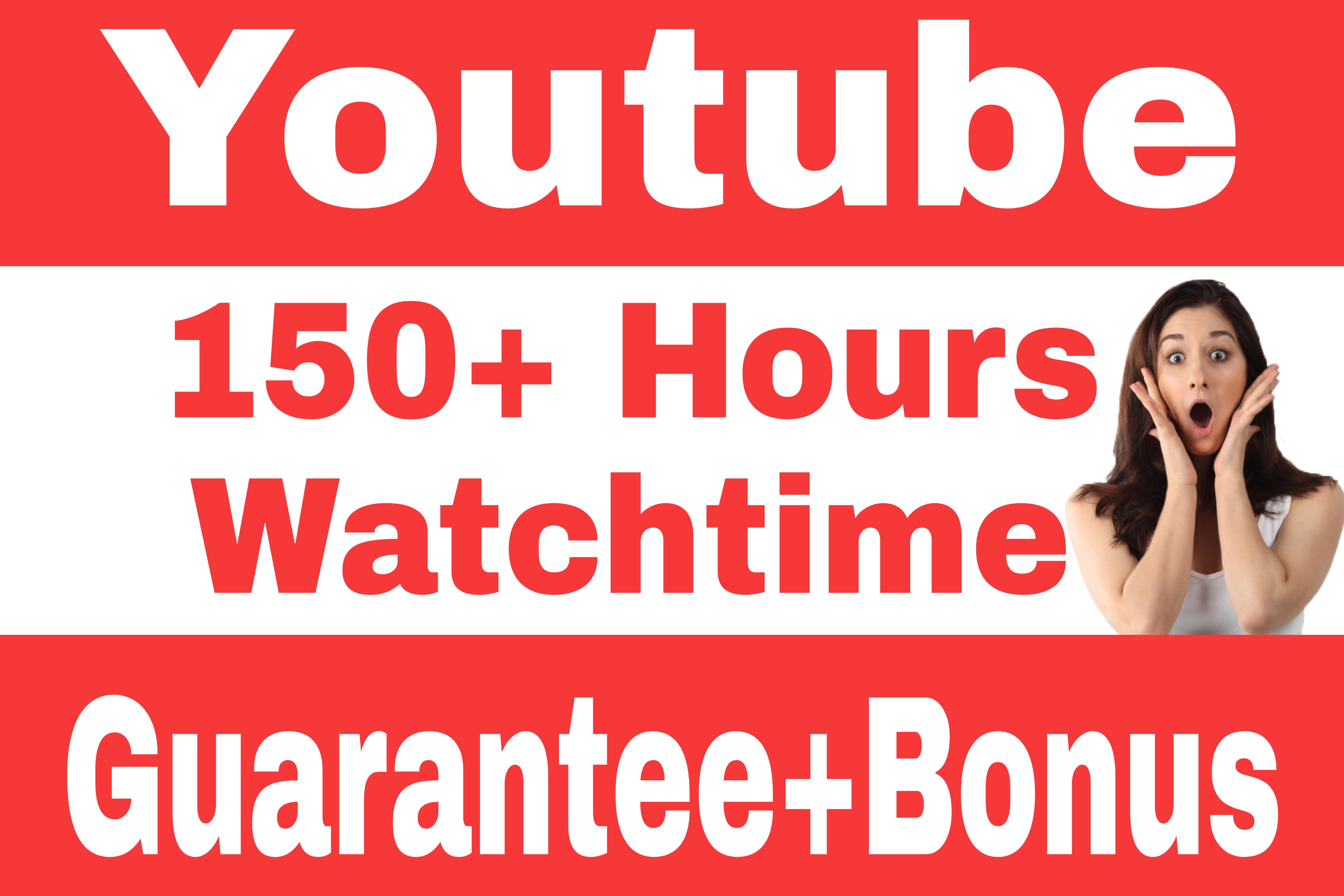 Youtube Video Watch Time Hours Promotion By Real Audience