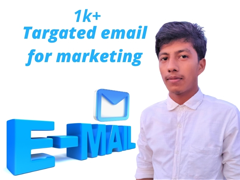 I will collecting targated Email for your bussiness