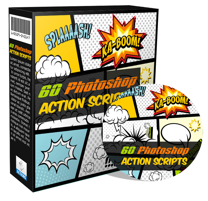 60 Photoshop Action Scripts Ready To Use