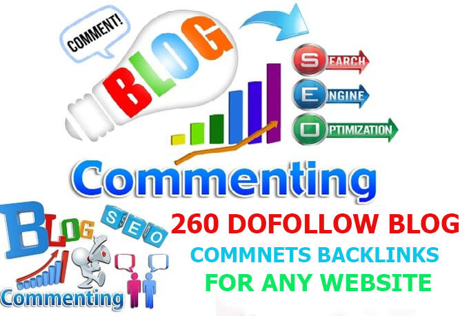 I will write 260 high quality blog comments or website comments