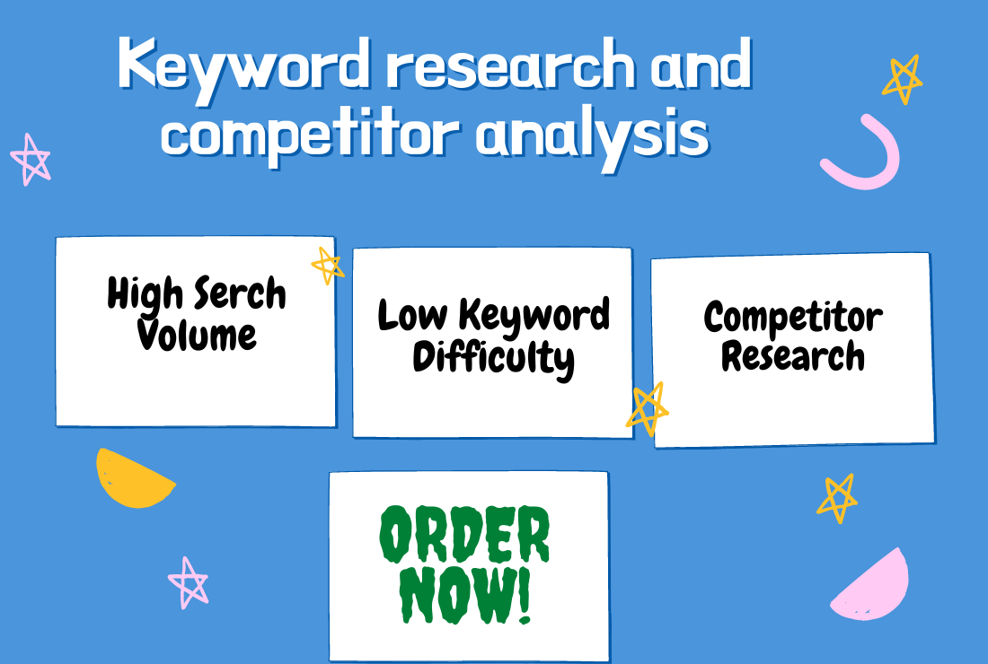 I will run keyword research for your niche or business