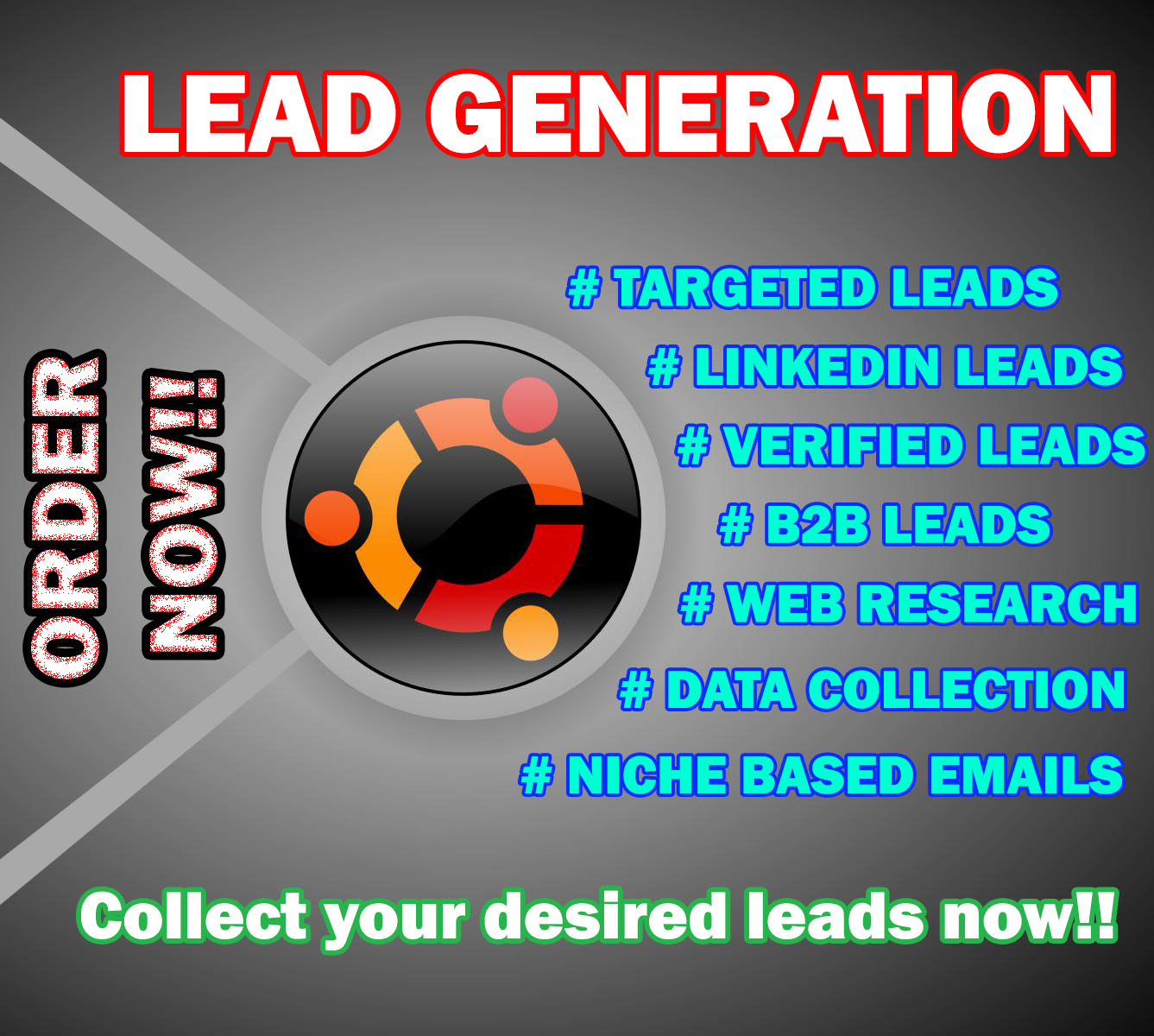 b2b lead collector at your service