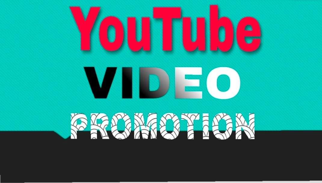 I will do YouTube video promotion