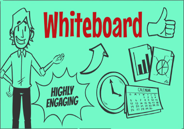 I'll do a Whiteboard Animation Video for your business to get more success