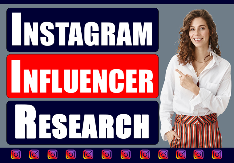 I Will find top YouTube or Instagram influencer