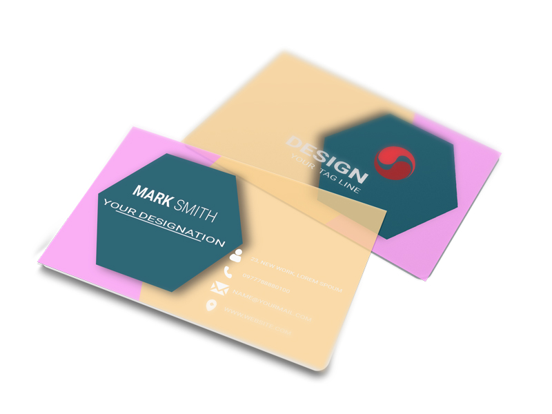 Just awesome business identity card