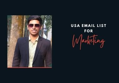 5K USA Email list for Marketing purposes