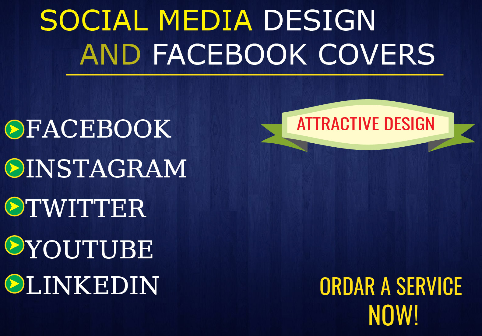 I Will Provide 10 Amazing High Quality Social Media Banner Design