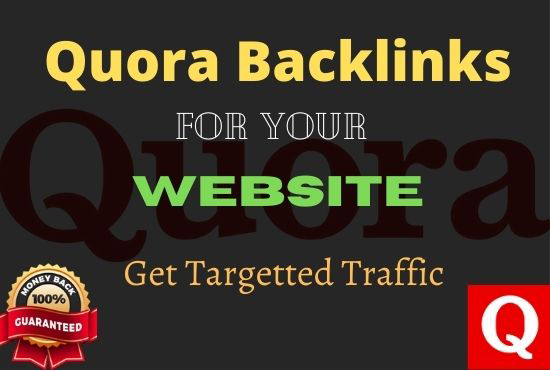 will provide 15 HQ Quora Answer with Backlink