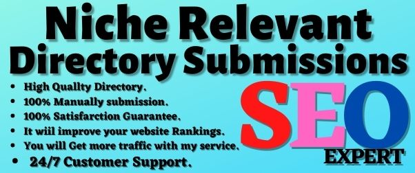 30+ Niche Relevant Directory Submissions on High PR Website
