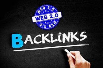 I will do 50 great web 2.0 backlinks