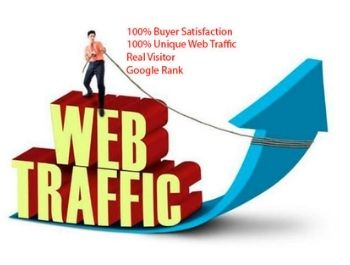 You will get a real and targeted web traffic.