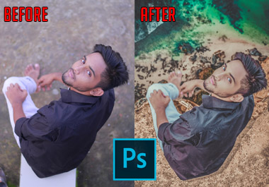 I will do any kind of photo manipulation,  photo editing,  skin retouch