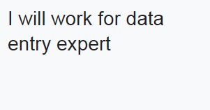I will do the best data entry work in a short time