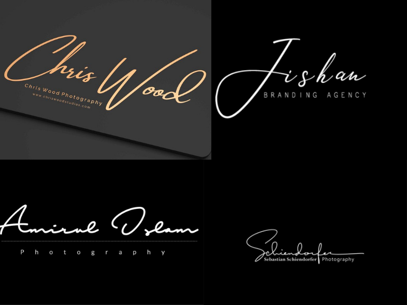 design an eye catchy signature logo handwritten or text