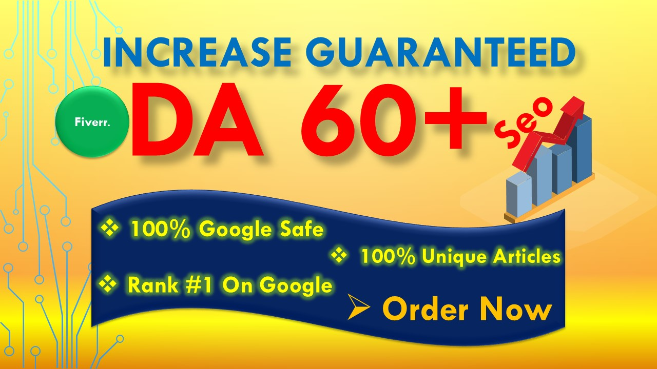i will increase moz domain authority DA 50 plus guaranteed