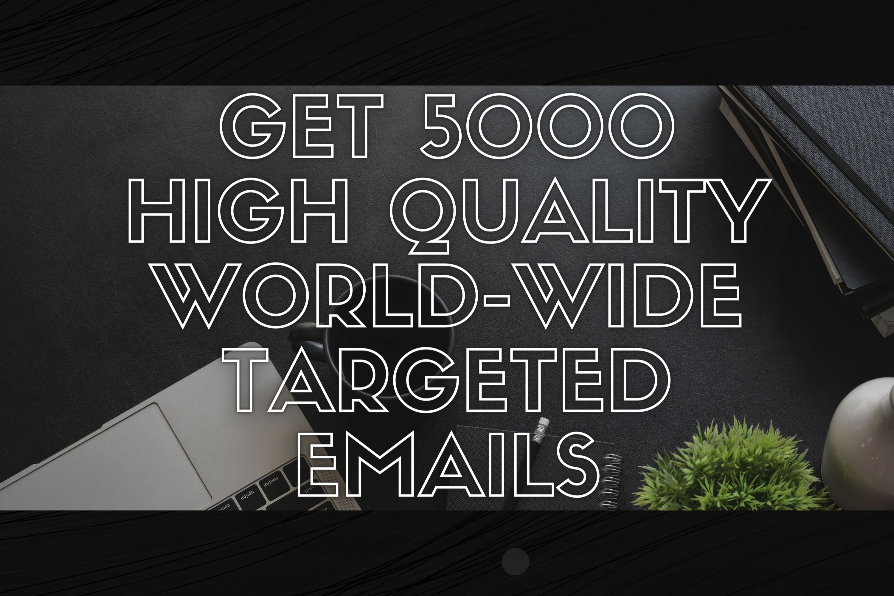 Get 5000 high quality world wide targeted email list for email marketing