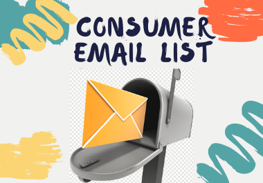 I will provide 1k any location or country based active consumer email list in 24 hours
