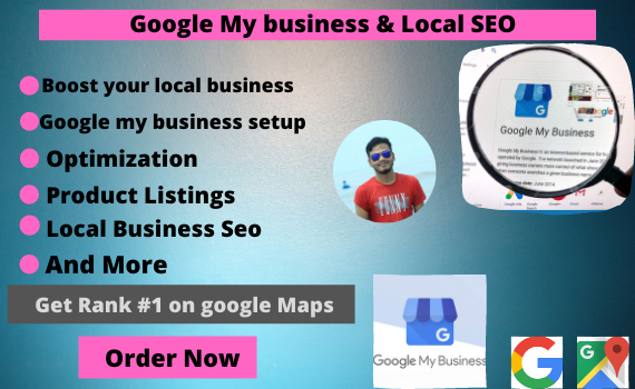 I will set up google my business and do local SEO