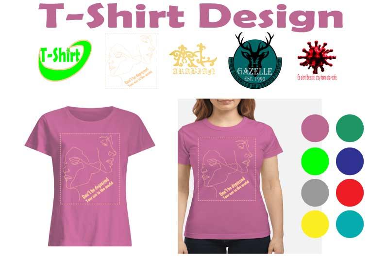 I will do custom T-shirt design