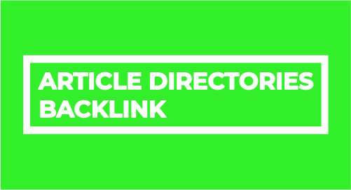 Provide 500 Article Directories Backlinks contextual backlinks