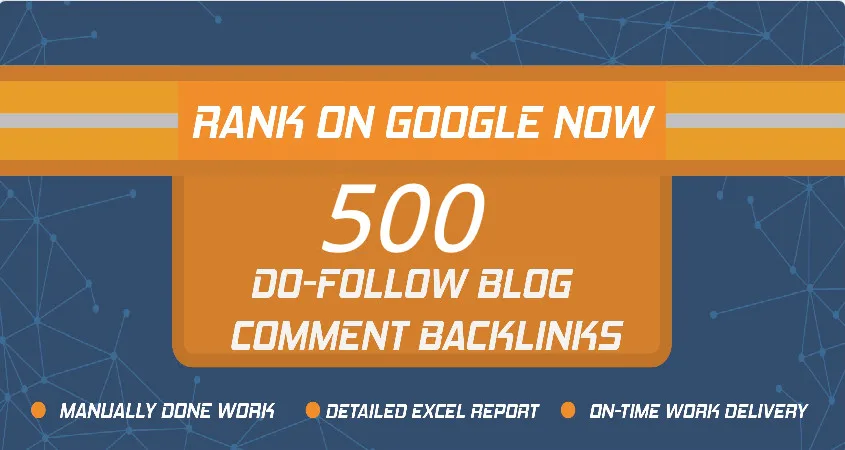 Add You High Quality PR 500 Blog Backlinks
