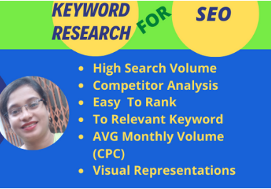 I Will Provided Niche Relevant Keywords and Competitor Analysis