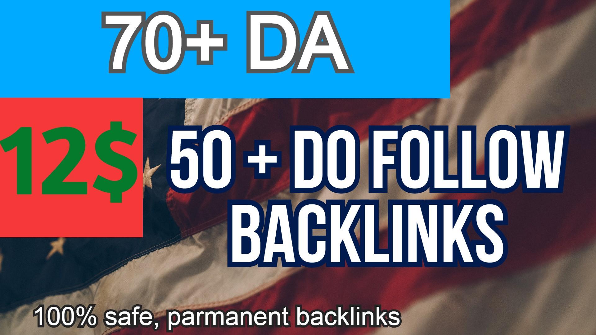 70+ DA 50 +POWERFULL PBN WEB 2.0 Backlinks GET IT NOW