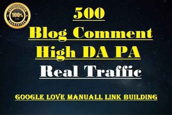 I will provide unique 500 blog comments