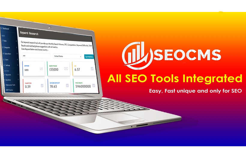 SEOCMS - Multipurpose CMS with Integrated SEO Tools & Blog