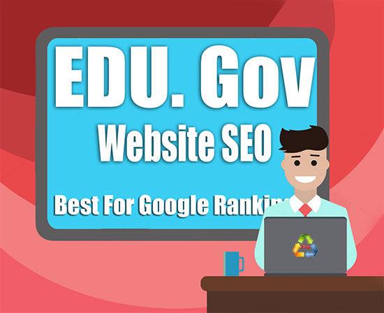 I will do edu gov high da SEO backlinks,  link building