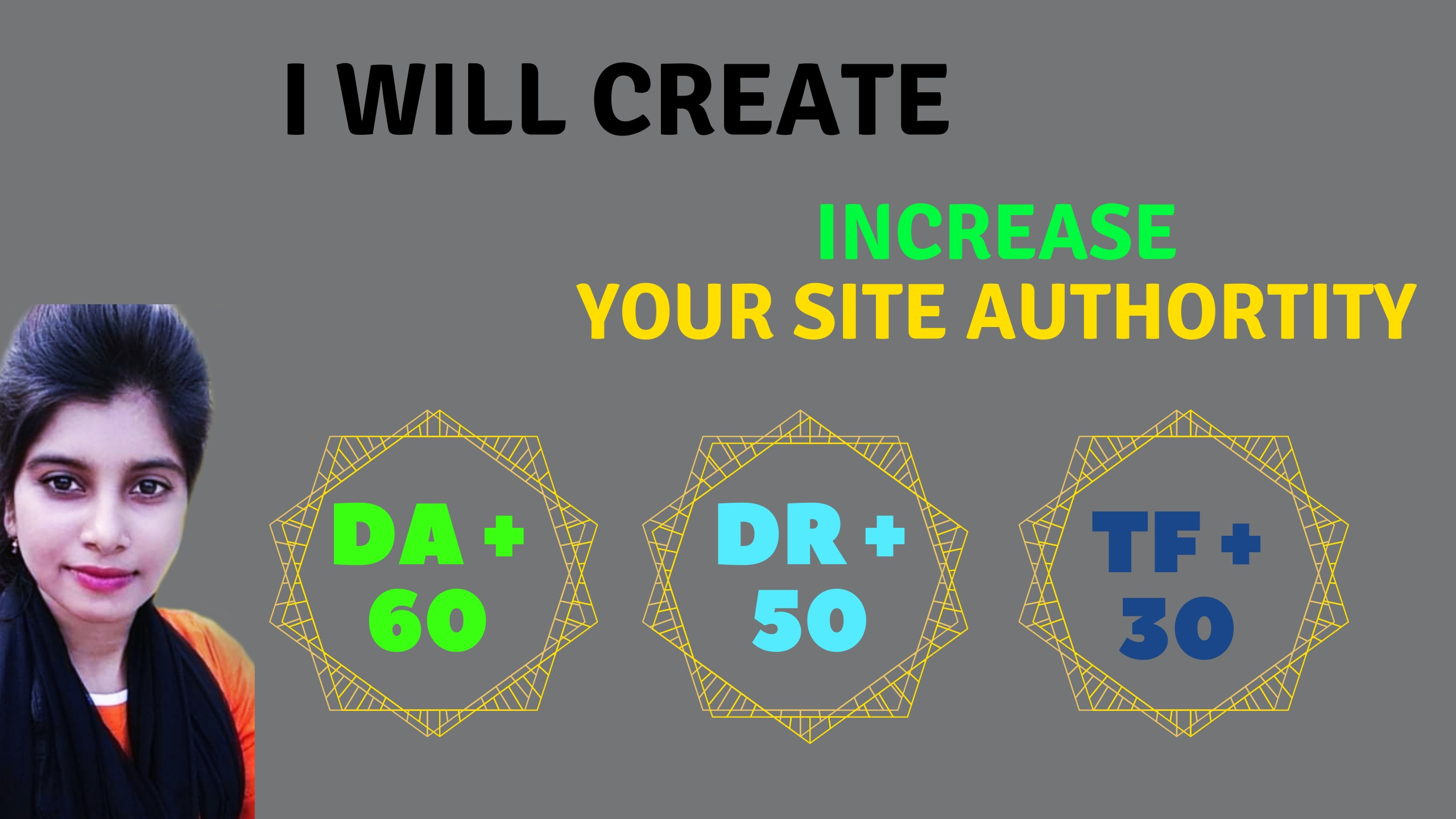 Increase DA60+ DR50 and tf30+ domain site backlink