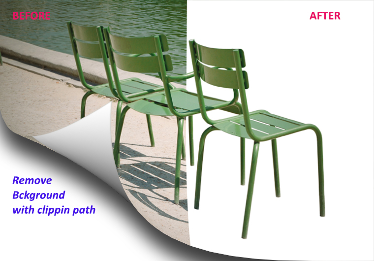 Remove background with clipping path of 10 images in 24 hrs