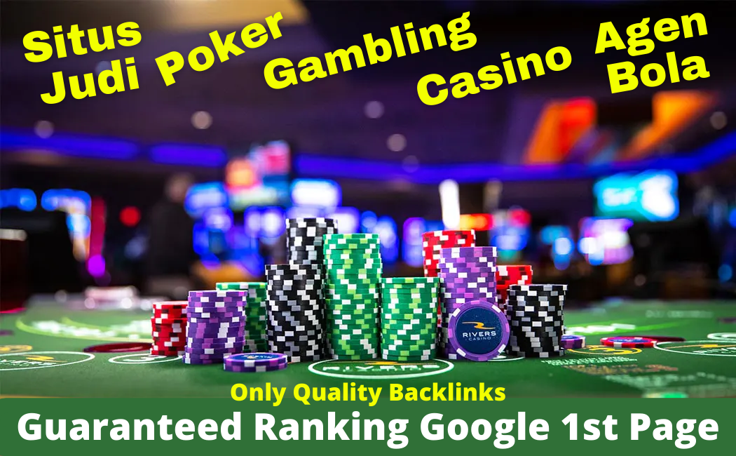 Guaranteed Google 1st Page 3,000 Backlinks Package Situs Judi Poker Gambling Casino Sports & Betting