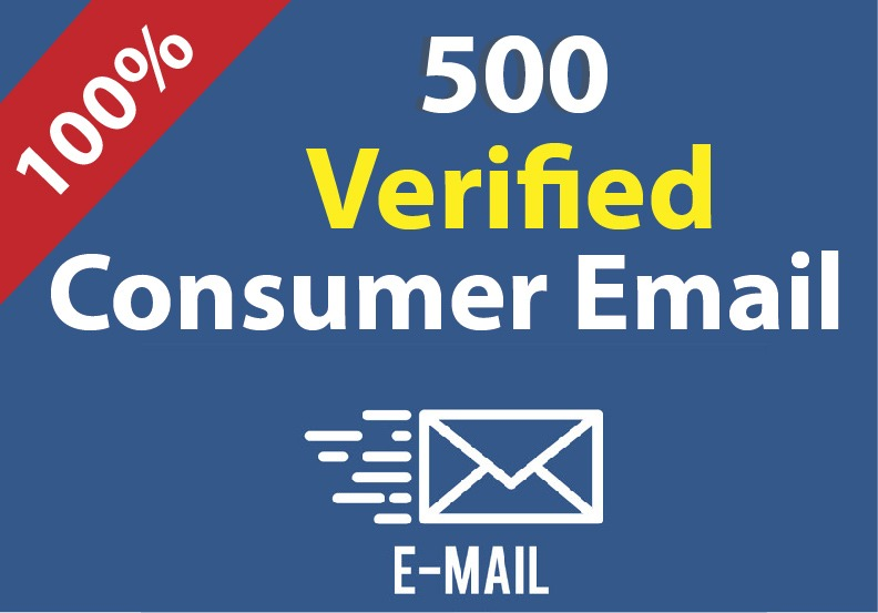 I will provide you 500 US active consumer email list for your business.