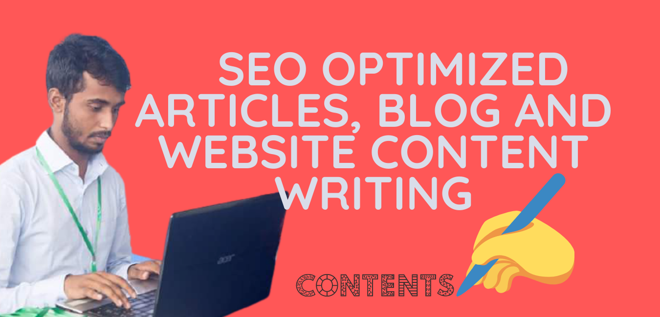 I will write SEO friendly content and article for website or any others