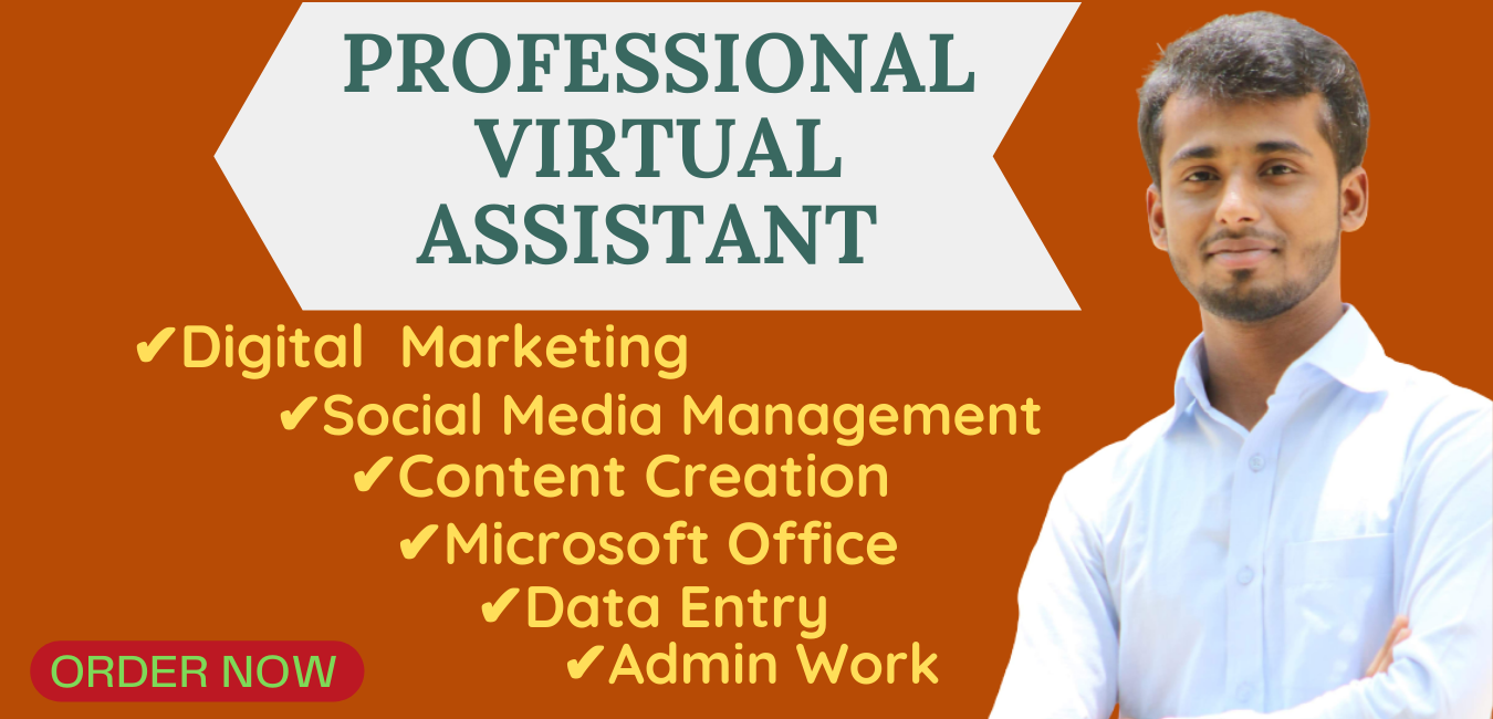I will be dedicated virtual assistant for your any Social Media